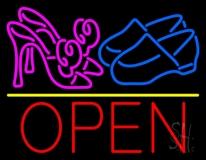 Heels Shoes Open Neon Sign