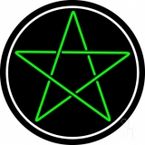 Pentacle Neon Sign