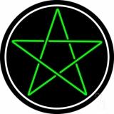 Pentacle Neon Sign