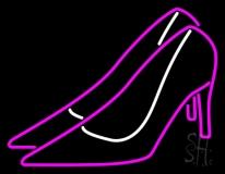 Pink High Heels Neon Sign