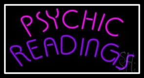 Pink Psychic Purple Readings Neon Sign