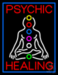 Psychic Health Neon Sign