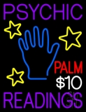Psychic Palm Readings Neon Sign