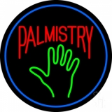 Red Palmistry Neon Sign