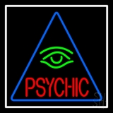 Red Psychic Green Eye Neon Sign