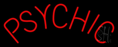 Red Psychic Neon Sign