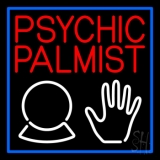 Red Psychic Palmist LED Neon Sign