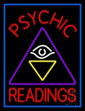 Red Psychic Readings Logo Neon Sign