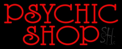 Red Psychic Shop Neon Sign
