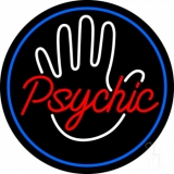 Red Psychic With Border Neon Sign