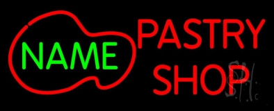Custom Pastry Shop Neon Sign