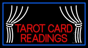 Red Tarot Card Readings LED Neon Sign