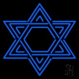 Star Of David Judaism Neon Sign