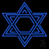 Star Of David Judaism LED Neon Sign