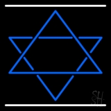 Star Of David Neon Sign