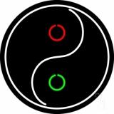 Taoist Symbol Neon Sign