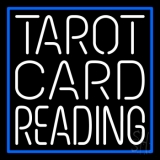 White Tarot Card Reading LED Neon Sign