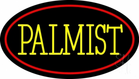 Yellow Palmist Block Neon Sign