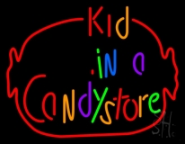 Kid In A Candy Store Neon Sign