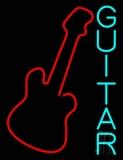 Blue Guitar 2 Neon Sign