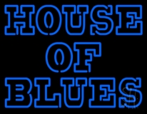 Blue House Of Blues LED Neon Sign