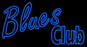 Blues Club LED Neon Sign