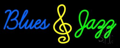Blues Jazz Neon Sign