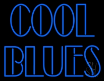 Cool Blues LED Neon Sign