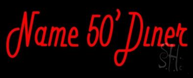 Custom 50s Diner Neon Sign