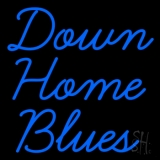 Down Home Blues LED Neon Sign