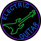 Electric Guitar LED Neon Sign