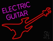 Electric Guitar Neon Sign