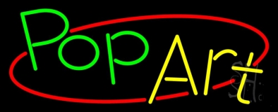 Pop Art Neon Signs
