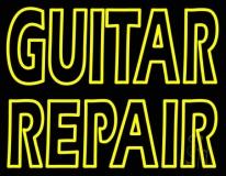 Guitar Repair Neon Sign