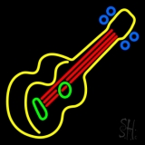 Guitar Strings Neon Sign