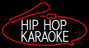 Hip Hop Karaoke Neon Sign