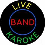 Live Band Karaoke LED Neon Sign