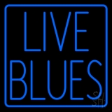 Live Blues Border Neon Sign