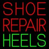 Shoe Repair Heels Neon Sign