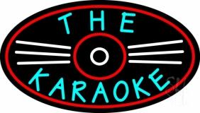 The Karaoke LED Neon Sign