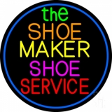 The Shoe Maker Shoe Service Neon Sign