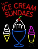 Sundaes Neon Signs