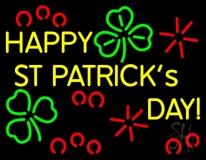 Happy St Patricks Day Neon Sign