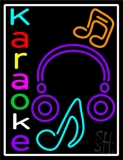 Multicolored Karaoke Neon Sign