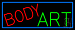 Body Art LED Neon Sign