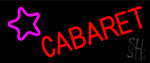 Cabaret Star Logo LED Neon Sign