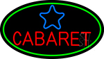 Cabaret Star Logo Neon Sign