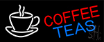 Coffee Teas Neon Sign