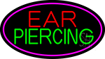 Ear Piercing LED Neon Sign