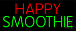 Happy Smoothie Neon Sign